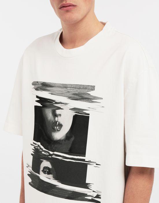 MAISON MARGIELA Graphic print T-shirt Short sleeve t-shirt [*** pickupInStoreShippingNotGuaranteed_info ***] a