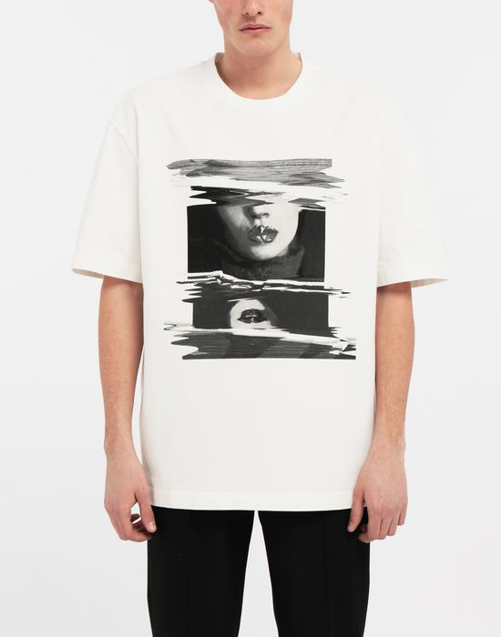 MAISON MARGIELA グラフィック プリント Tシャツ T シャツ [*** pickupInStoreShippingNotGuaranteed_info ***] r