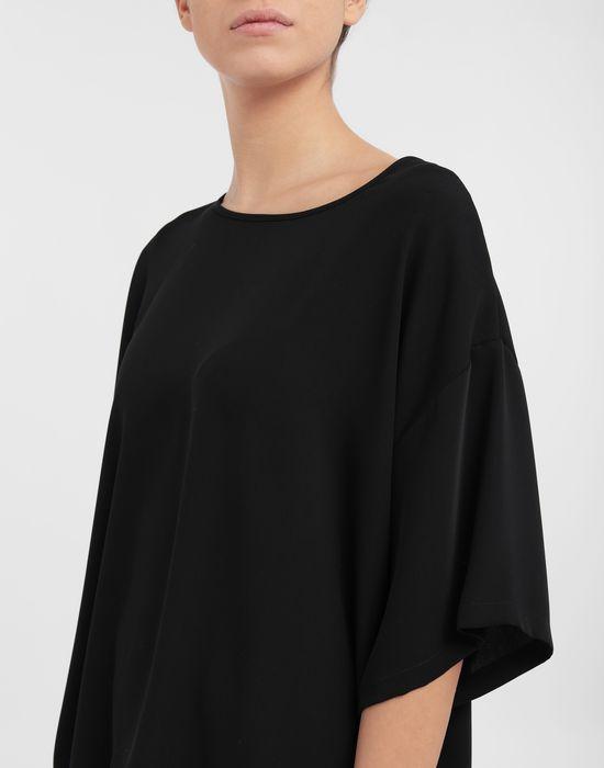 MM6 MAISON MARGIELA Asymmetrical jersey shirt Top [*** pickupInStoreShipping_info ***] a