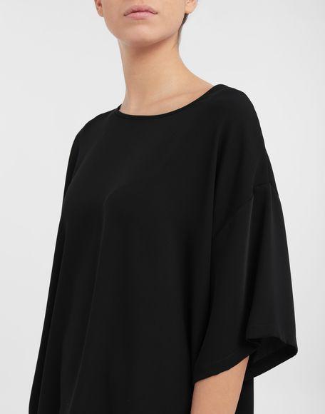 MM6 MAISON MARGIELA Asymmetrical jersey shirt Top Woman a