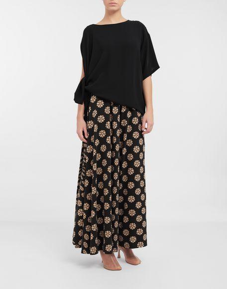 MM6 MAISON MARGIELA Asymmetrical jersey shirt Top Woman d