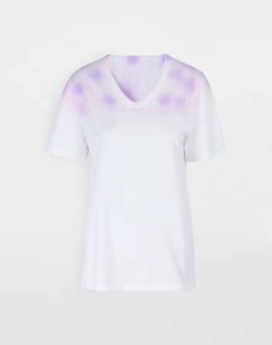 TOPS AIDS Charity tie-dye T-shirt White