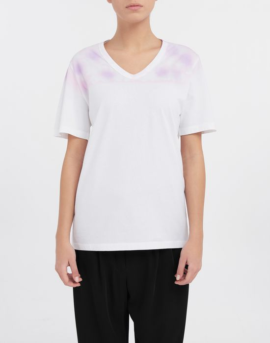 MM6 MAISON MARGIELA AIDS Charity tie-dye T-shirt Short sleeve t-shirt [*** pickupInStoreShipping_info ***] r