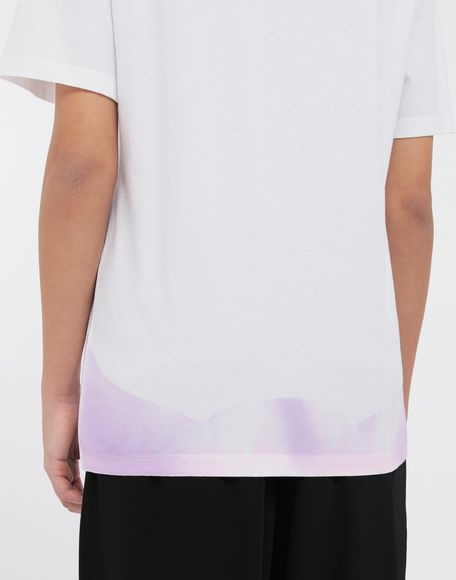 MM6 MAISON MARGIELA AIDS Charity tie-dye T-shirt Short sleeve t-shirt Woman b