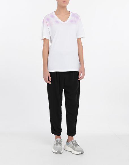 MM6 MAISON MARGIELA AIDS Charity tie-dye T-shirt Short sleeve t-shirt Woman d