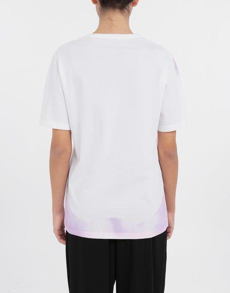 MM6 MAISON MARGIELA AIDS Charity tie-dye T-shirt Short sleeve t-shirt Woman e