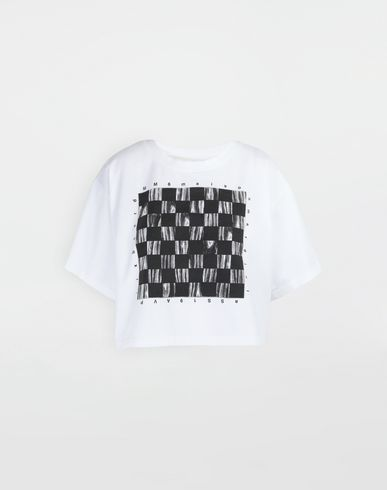 MM6 MAISON MARGIELA Short sleeve t-shirt [*** pickupInStoreShipping_info ***] Board games print T-shirt f