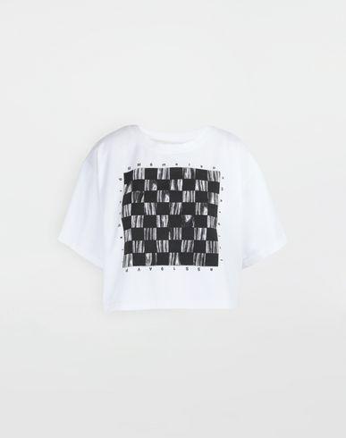 MM6 MAISON MARGIELA T-shirt manches courtes [*** pickupInStoreShipping_info ***] T-shirt avec imprimé jeu de société f