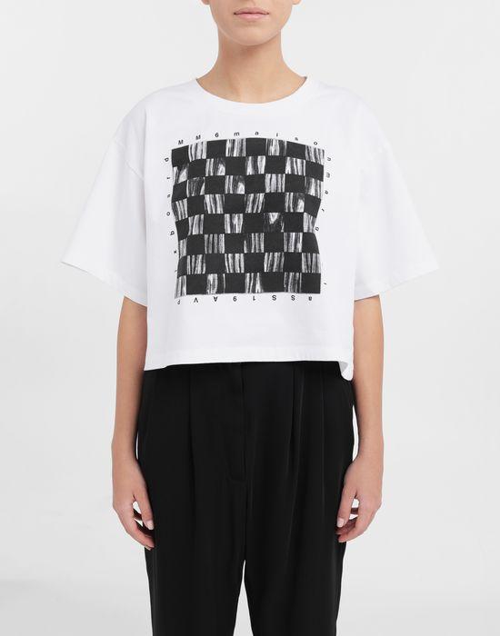 MM6 MAISON MARGIELA Board games print T-shirt Short sleeve t-shirt [*** pickupInStoreShipping_info ***] r