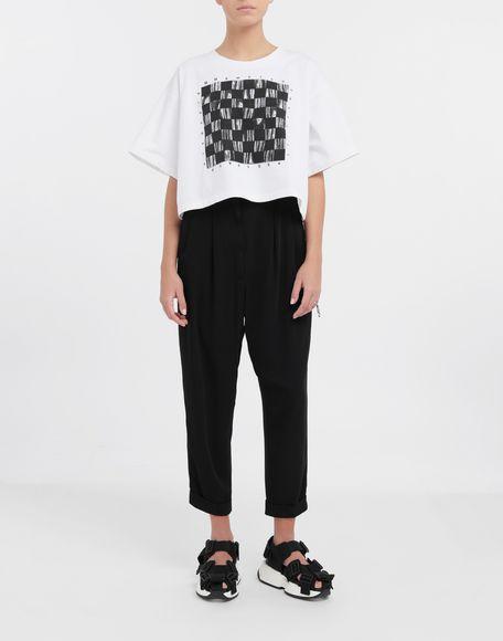 MM6 MAISON MARGIELA Board games print T-shirt Short sleeve t-shirt Woman d
