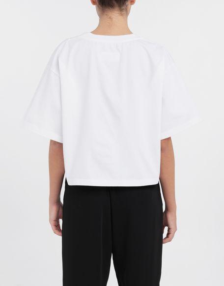 MM6 MAISON MARGIELA Board games print T-shirt Short sleeve t-shirt Woman e
