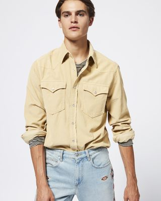 ISABEL MARANT SHIRT & BLOUSE Man VIGO shirt r