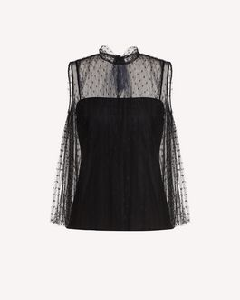REDValentino Knit Dress Woman SR0KDB084NW KS0 a