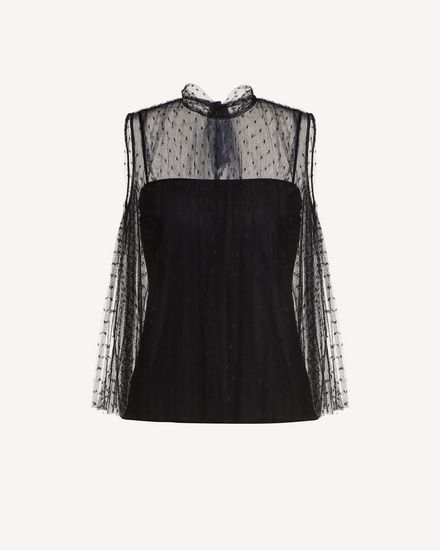 REDValentino Top Woman RR3AEA55428 0NO a