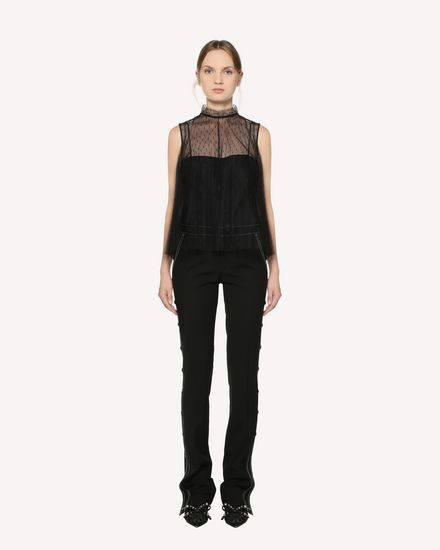 REDValentino Top Damen RR3AEA55428 0NO f