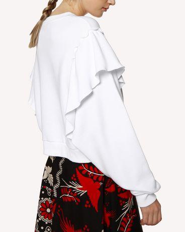 REDValentino RR0MF00PKEI 001 Sweatshirt Woman e
