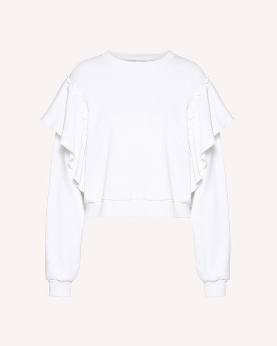 REDValentino Ruffles detail sweatshirt