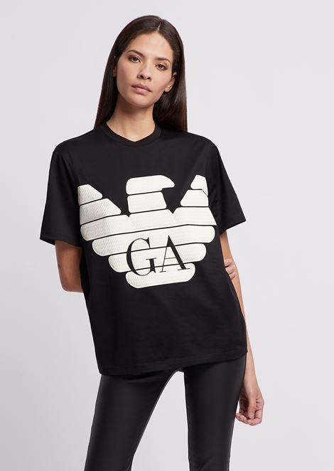 a344bf25880 R-EA-MIX T-shirt with printed maxi logo