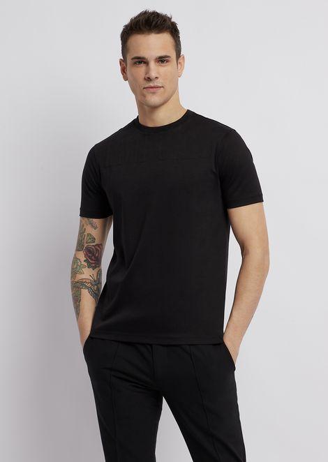 Cotton interlock jersey T-shirt
