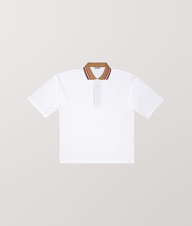 BOTTEGA VENETA POLO IN COTTON T-Shirts and Polos [*** pickupInStoreShippingNotGuaranteed_info ***] fp