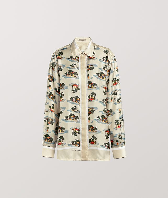 BOTTEGA VENETA SHIRT IN SILK Shirt and T-Shirt [*** pickupInStoreShipping_info ***] fp