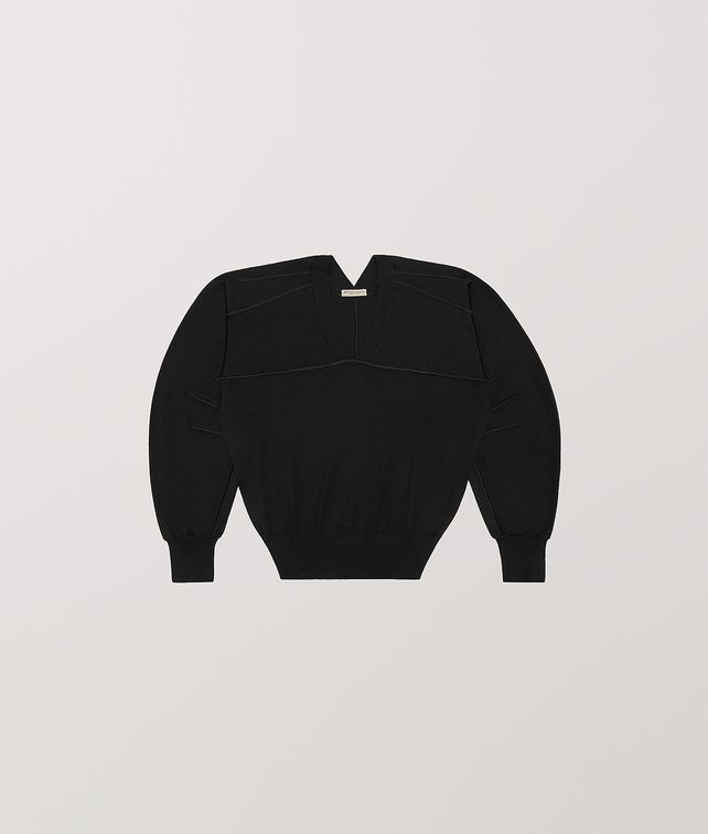 BOTTEGA VENETA PULLOVER IN MERINO WOOL Knitwear [*** pickupInStoreShipping_info ***] fp