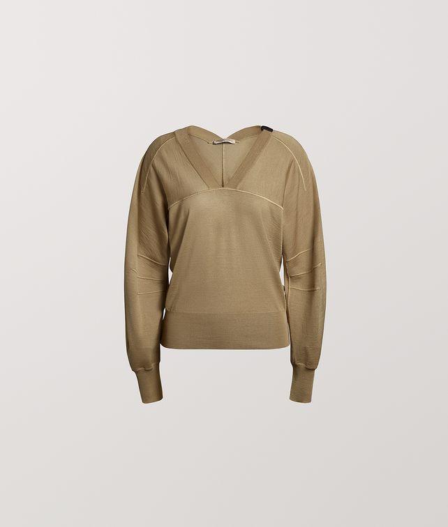 BOTTEGA VENETA PULLOVER IN MERINO WOOL Knitwear Woman fp
