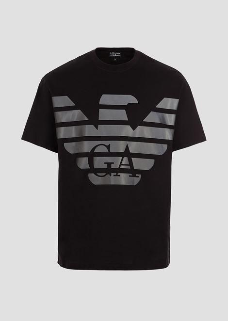 R-EA-MIX T-shirt with reflective maxi logo