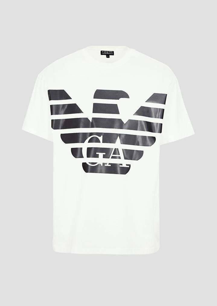 2685e809af R-EA-MIX T-shirt with reflective maxi logo