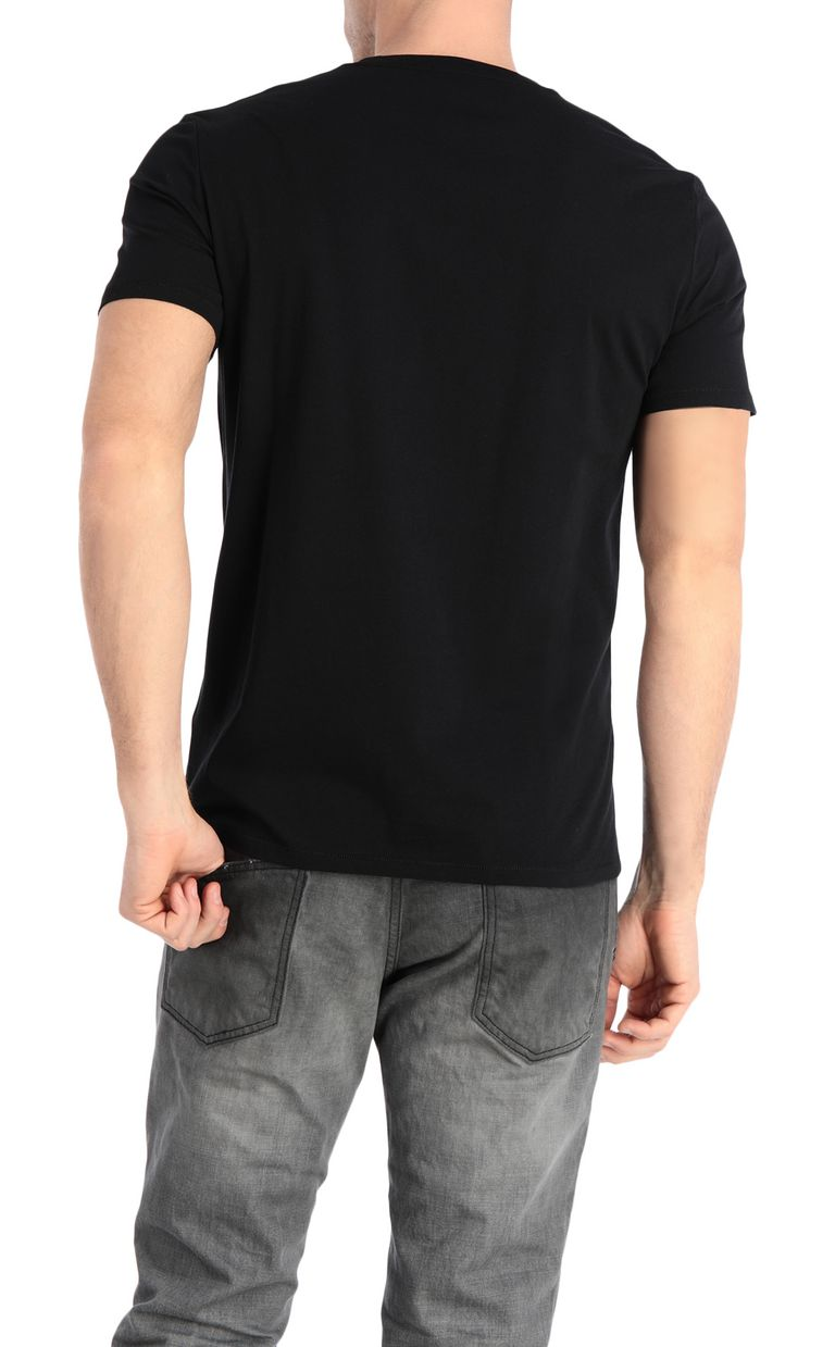 JUST CAVALLI T-shirt with boar print Short sleeve t-shirt Man r
