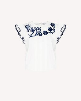 REDValentino Top Woman RR0MC00YMEH 0NI a