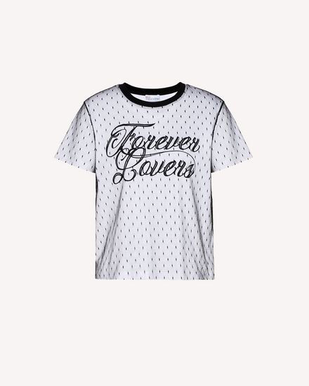 """Forever Lovers"" printed T-shirt"
