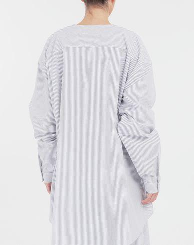 TOPS & TEES Combo striped poplin jersey shirt