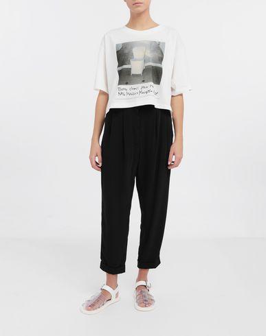 TOPS & TEES Polaroid chair printed T-shirt