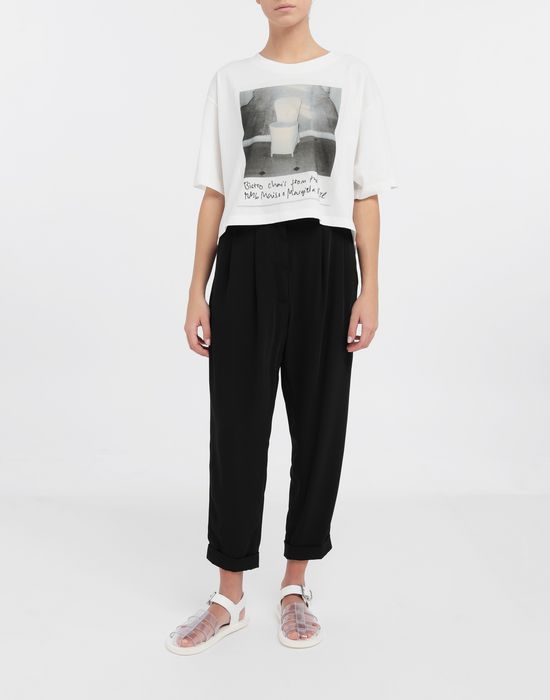 MM6 MAISON MARGIELA Polaroid chair printed T-shirt Short sleeve t-shirt [*** pickupInStoreShipping_info ***] d