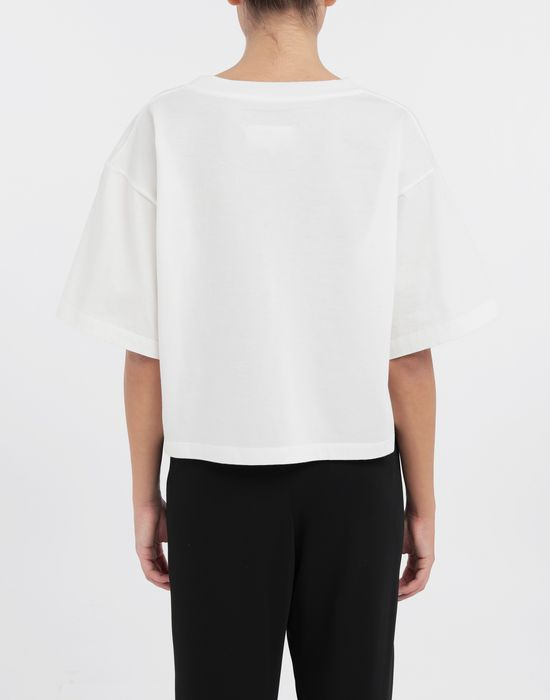 MM6 MAISON MARGIELA Polaroid chair printed T-shirt Short sleeve t-shirt [*** pickupInStoreShipping_info ***] e