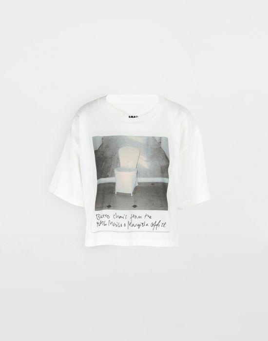 Chair Stampa Polaroid Margiela Shirt Con Donna Maison T 8nwPkXN0O