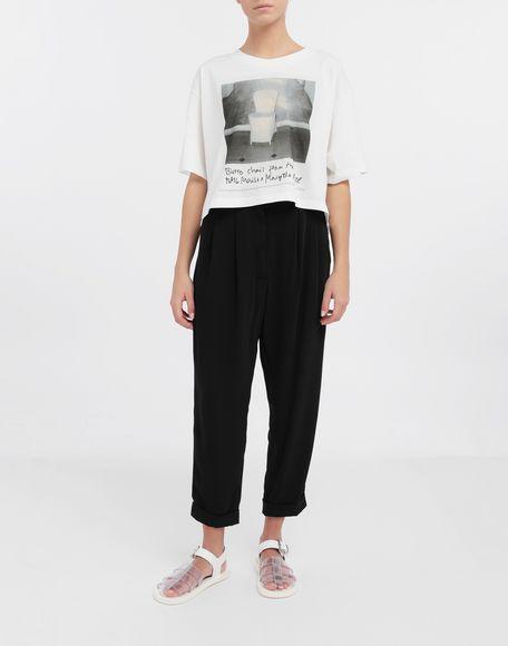 MM6 MAISON MARGIELA Polaroid chair printed T-shirt Short sleeve t-shirt Woman d