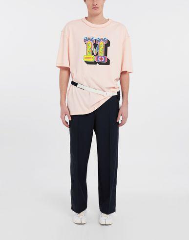 TOPS & TEES M logo printed T-shirt