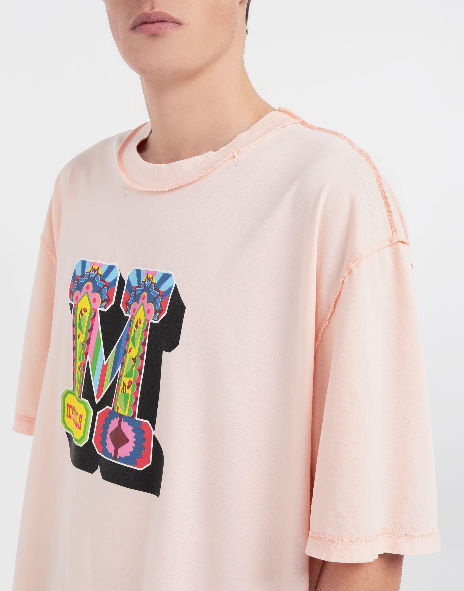MAISON MARGIELA M logo printed T-shirt Short sleeve t-shirt Man a