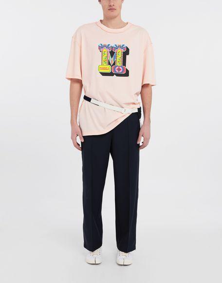 MAISON MARGIELA M logo printed T-shirt Short sleeve t-shirt Man d