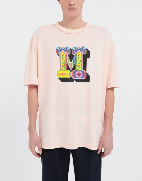 MAISON MARGIELA M logo printed T-shirt Short sleeve t-shirt Man r