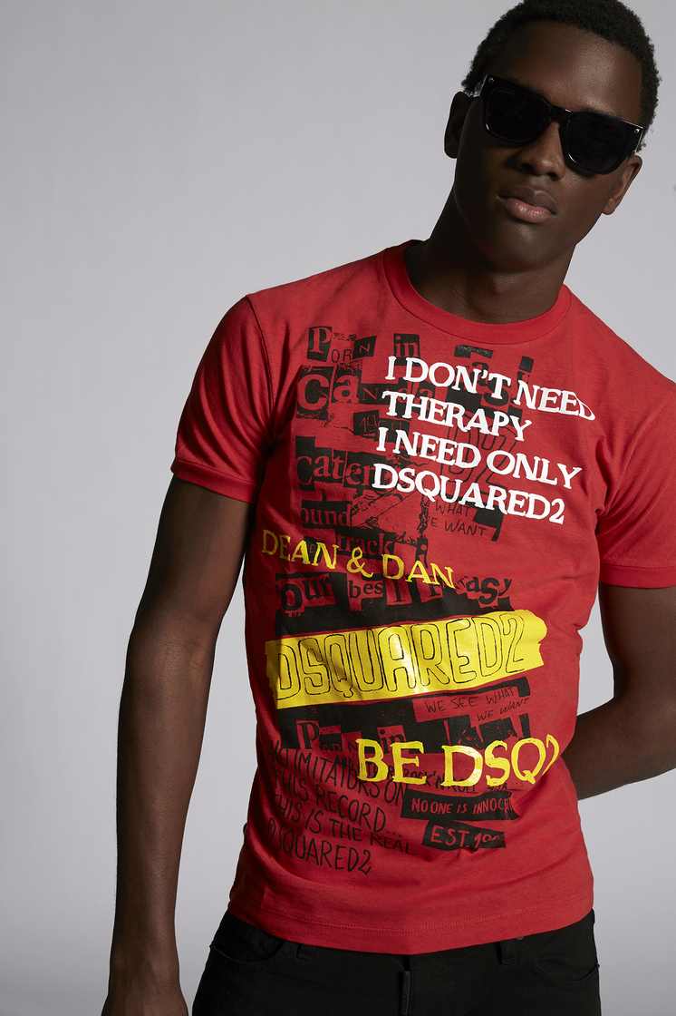 DSQUARED2 Be DSQ2 T-Shirt Short sleeve t-shirt Man