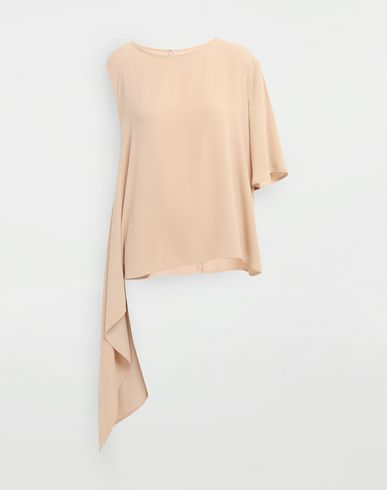 MM6 MAISON MARGIELA Top [*** pickupInStoreShipping_info ***] Asymmetrical jersey shirt f