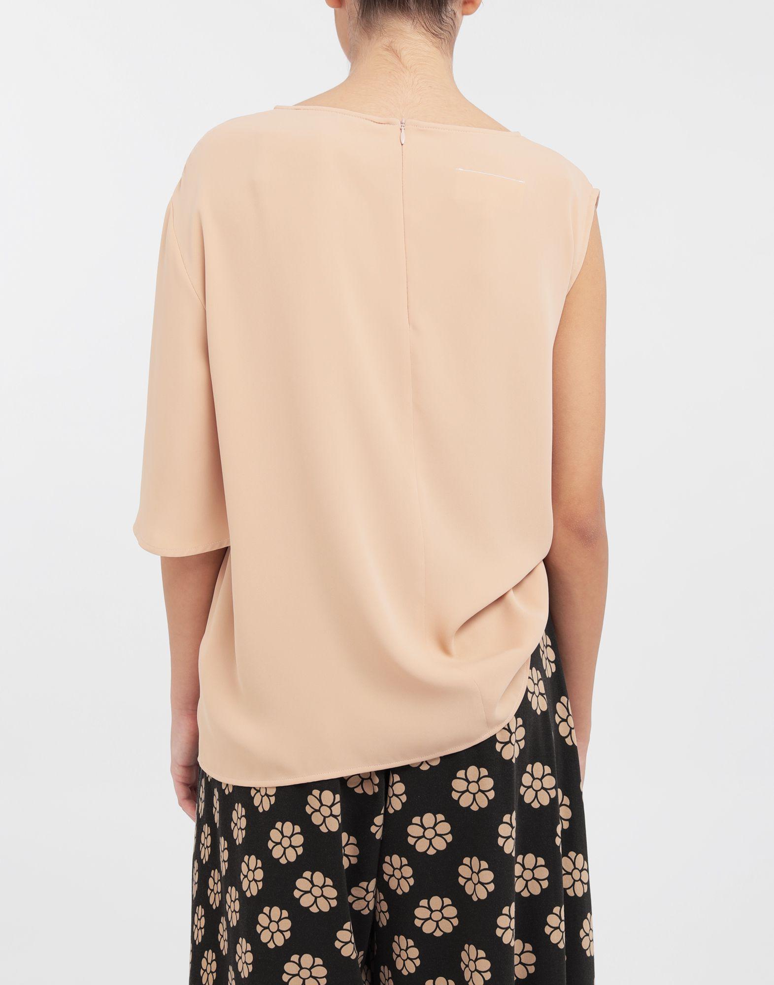 MM6 MAISON MARGIELA Asymmetrical jersey shirt Top Woman e