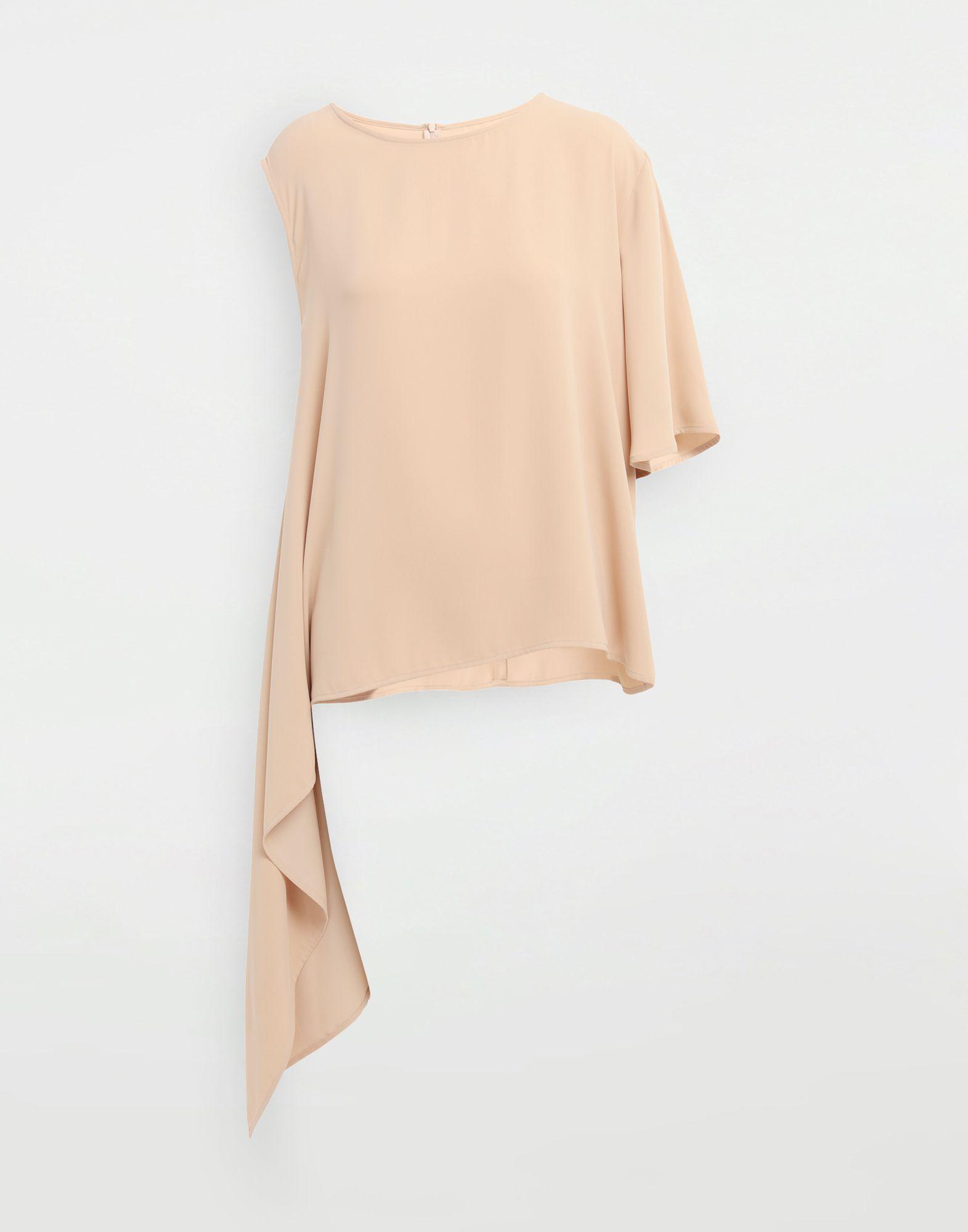 MM6 MAISON MARGIELA Asymmetrical jersey shirt Top Woman f