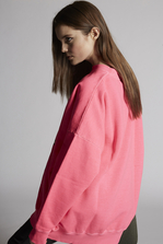 DSQUARED2 Dsquared2 Pink'n'Punk Sweatshirt Sweatshirt Woman