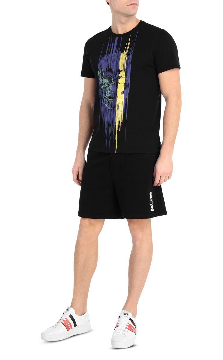 JUST CAVALLI Skull t-shirt Short sleeve t-shirt [*** pickupInStoreShippingNotGuaranteed_info ***] d