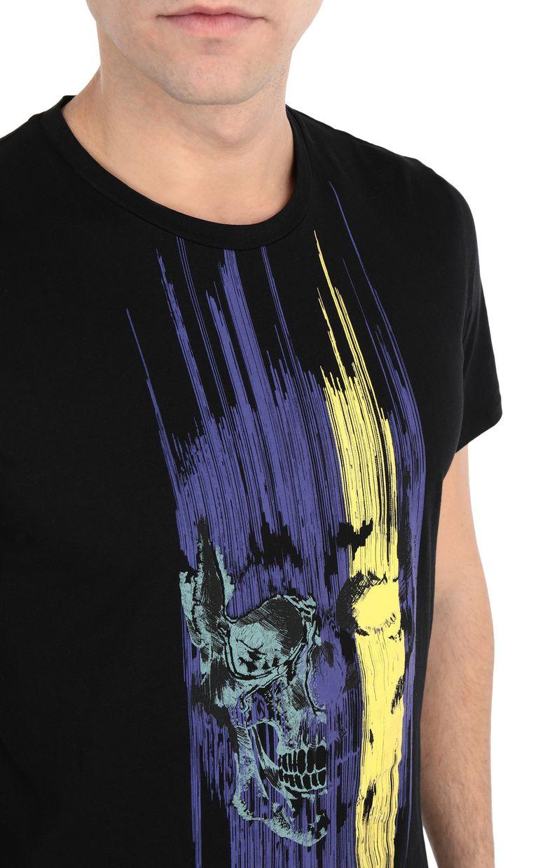 JUST CAVALLI Skull t-shirt Short sleeve t-shirt [*** pickupInStoreShippingNotGuaranteed_info ***] e
