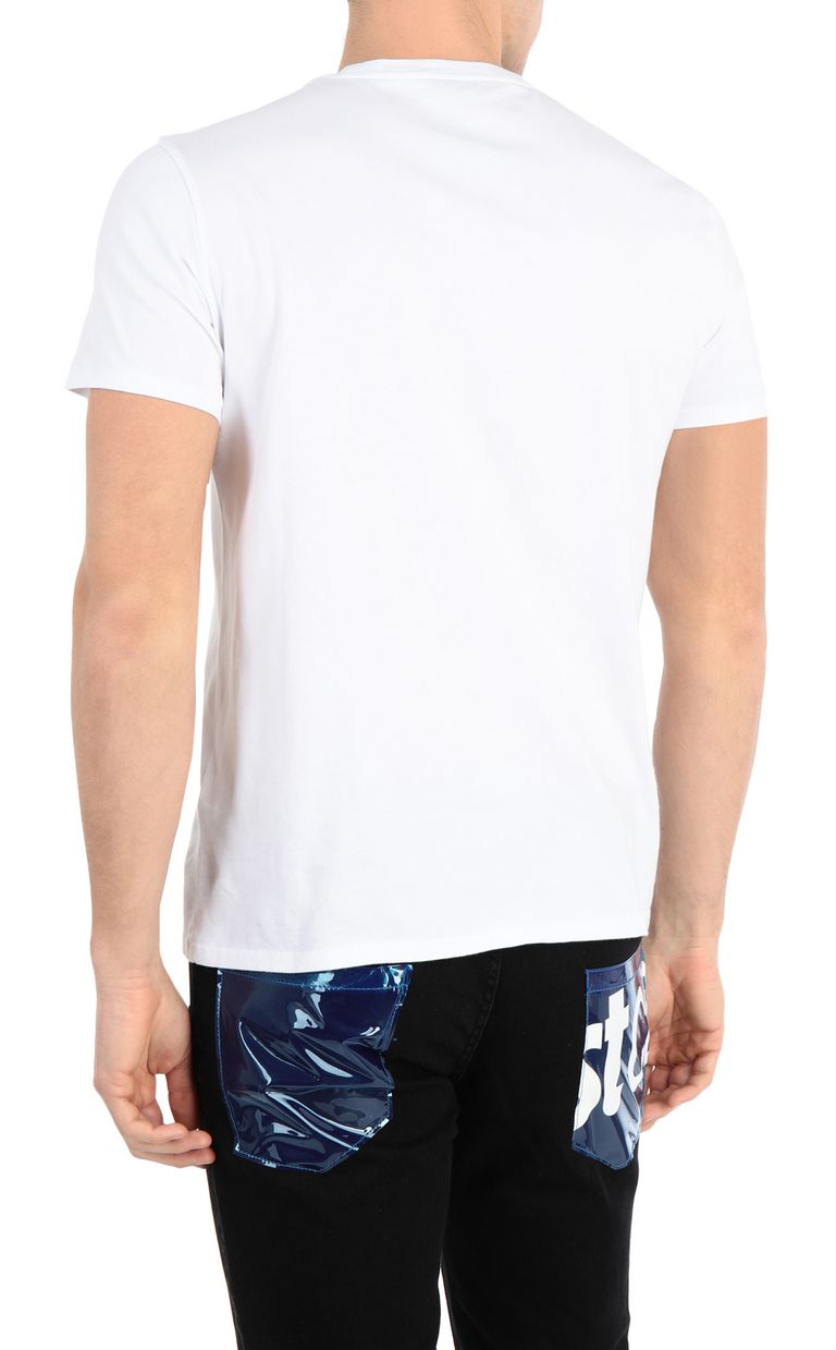 JUST CAVALLI T-shirt with snake print Short sleeve t-shirt Man r